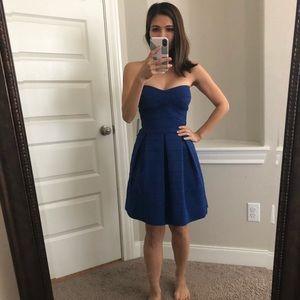 NWT Express blue dress extra small